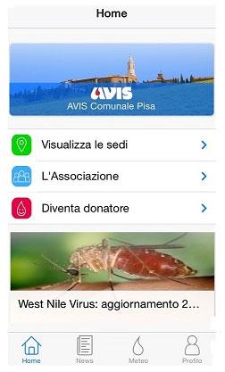 E' nata la nuova applicazione di AVIS Toscana!