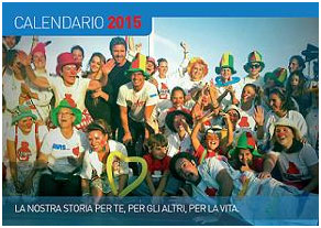 AVIS Pisa ed ADMO Pisa hanno realizzato il calendario da tavolo 2015