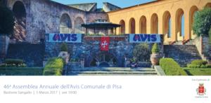 46° Assemblea Annuale dei Soci AVIS Pisa – Elezione del Nuovo Consiglio Direttivo