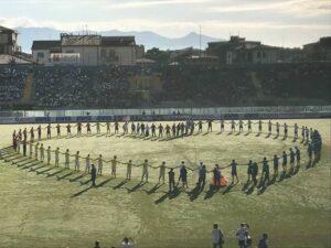 """Pisa Grande Cuore: """"La Scuola inizia allo Stadio – Dono e Legalità"""" – 23/09/2017"""