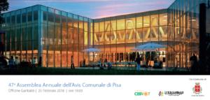 47° Assemblea Annuale dei Soci AVIS Comunale di Pisa – 25 febbraio 2018