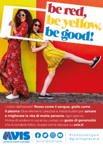 Be Red, be Yellow.Be good! Ecco la Nuova Campagna Estiva Avis