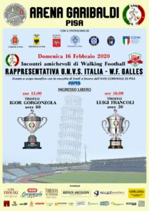 Incontri amichevoli di Walking Football Italia – Galles