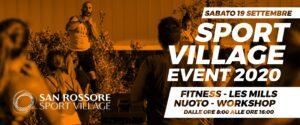 Avis e Sport Village San Rossore – 19 Settembre 20
